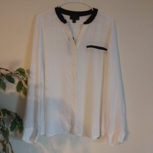 Worthington blouse size XL NWT